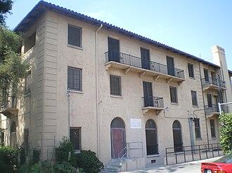 Hollywood Studio Club - North wing of the Studio Club