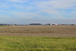 Farms west of Fort Loramie