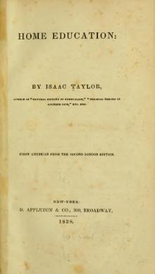 Home Education by Isaac Taylor (1838).djvu