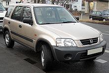 Facelift Honda CR V