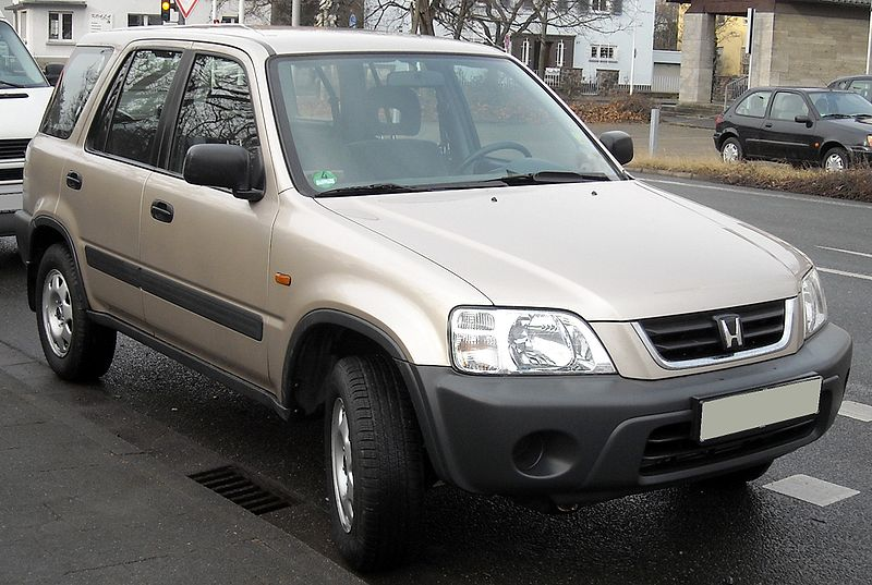 1995 Honda CR-V | Photo credit: Wikimedia Commons; Rudolf Stricker