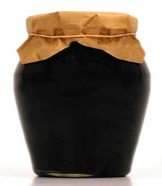 Grape syrup - Honey arrope flask.