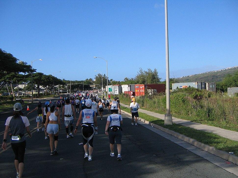 Honolulu marathon 2006 2