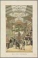 Hoofdgalerij op de Wereldtentoonstelling in Amsterdam, 1883 Blik in de Hoofdgalerij (titel op object) Herinnering aan Amsterdam in 1883 (serietitel op object), RP-P-OB-89.751-17.jpg