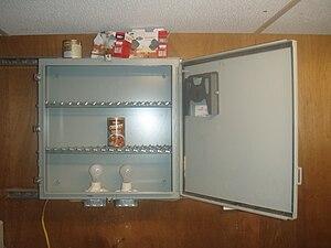 Hot box (appliance) - Door Open.
