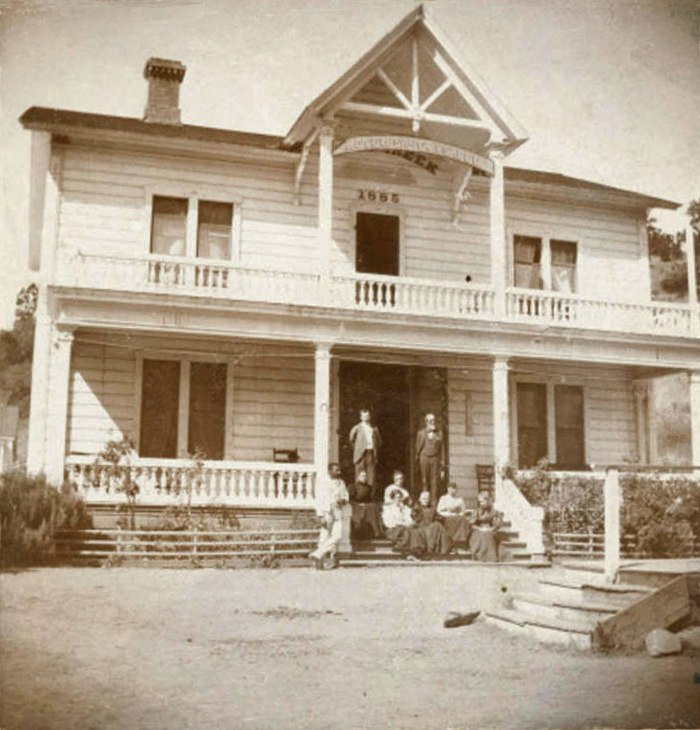 Hotel Santa Ysabel on Smith Creek 1895