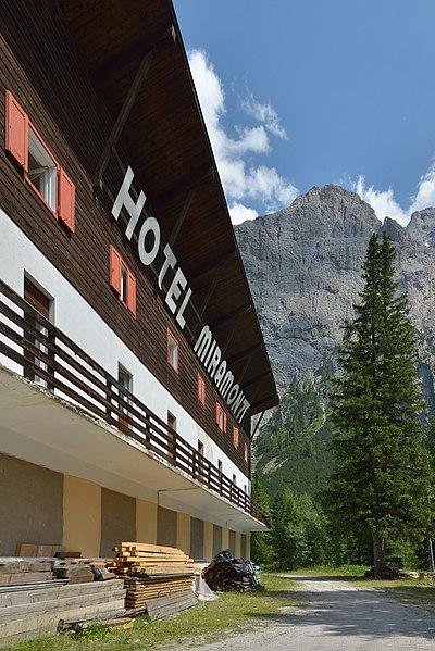 Hotel Plan Val Pabiria