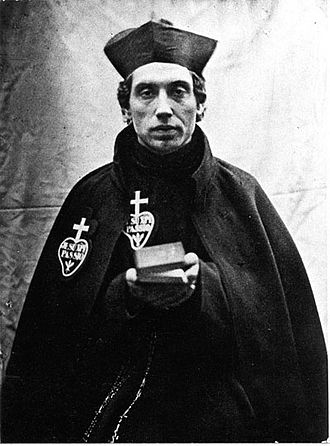 Charles of Mount Argus - Father Charles of St. Andrew wearing the Passionist habit (1851)