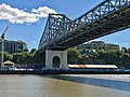 Howard Smith Wharves under the Story Bridge, Brisbane seen from opposite side of the Brisbane River, 01.jpg