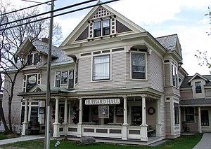 Hubbard Hall (Elizabethtown, New York) - Hubbard Hall, May 2009