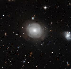 Lenticular galaxy
