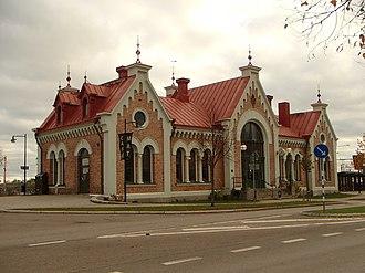 Hudiksvall Municipality - Hudiksvalls Train Station