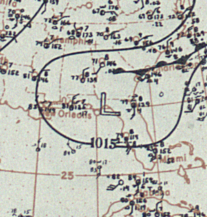 1899 Carrabelle hurricane - Image: Hurricane Two analysis 31 Jul 1899