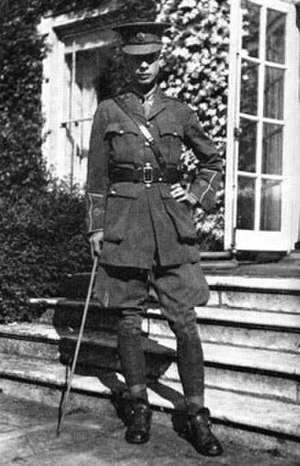 Julian Huxley - Julian Huxley British Army Intelligence Corps 1918