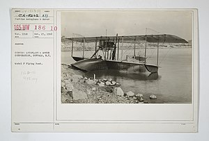 Hydroplanes - Types - Model - F - CURTISS AEROPLANE & MOTOR CORPORATION, BUFFALO, New York. Model F Flying Boat - NARA - 31485447.jpg