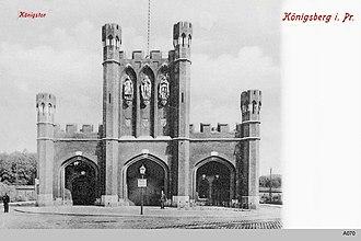 King's Gate (Kaliningrad) - Image: ID003163 A070 Koenigstor