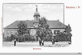 Joachim Ludwig Schultheiss von Unfriedt - Image: ID003704 B137 Koenigl Waisenhaus