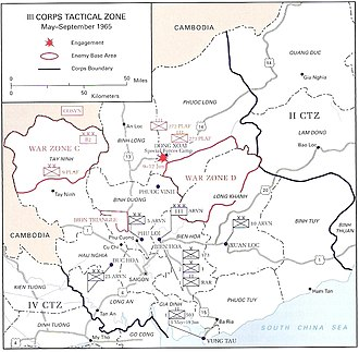 Battle of Gang Toi - III CTZ, May to September 1965.