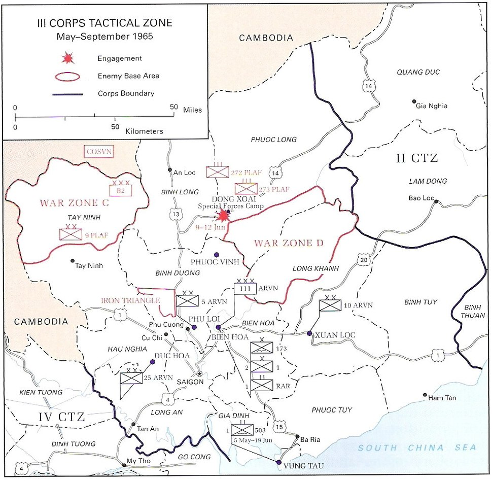 III CTZ May to September 1965