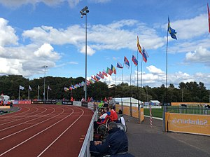 2014 IPC Athletics European Championships - The flags of the competing nations at the 2014 Championships.