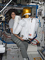 ISS-32 Sunita Williams hugs Robonaut 2.jpg