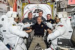 ISS Expedition 61 crew before first all-female spacewalk in history – 2019-10-18.jpg