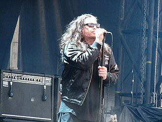 The Cult - Ian Astbury at a live show.