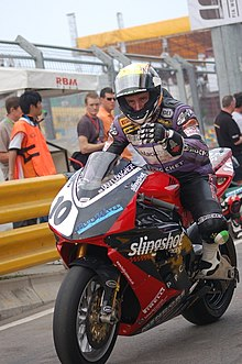 Ian Lougher at the 40th Macau Motorcycle Grand Prix in 2006.jpg