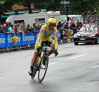 Iban Mayo Spanish cyclist