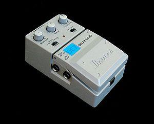 Delay (audio effect) - IAn Ibanez DE-7 delay pedal