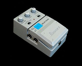 Delay (audio effect) - An Ibanez DE-7 delay pedal