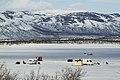 Ice fishing on Torneträsk, Norrbotten, Sweden, 2015 April.jpg