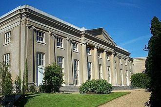 Ickworth House - The West Wing; its interior remained unfinished until 2006