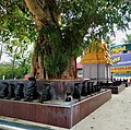 Idols of Naga, Nagaraja temple, Nagercoil, Tamil Nadu India - 6.jpg