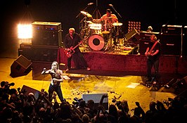 The Stooges performing at the Hammersmith Apollo (2010)