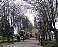 Iglesia de Castro y plaza.JPG