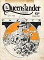 Illustrated front cover from The Queenslander, April 5, 1928 (6167336341).jpg