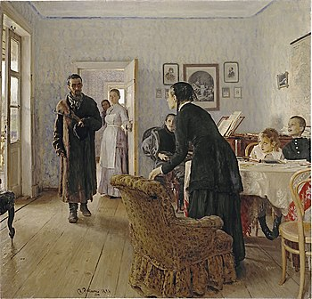 Ilya Repin Unexpected visitors.jpg