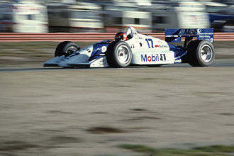 Paul Tracy - Tracy making his third start for Penske Racing at Laguna Seca in 1991