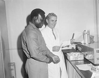 African Australians - An agricultural officer from Ghana visiting Queensland under the Special Commonwealth African Assistance Plan, 1962