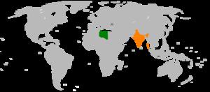 India–Libya relations - Image: India Libya Locator