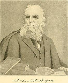 Moses Austin Bryan American revolutionary