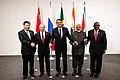 Informal meeting of the BRICS during the 2019 G20 Osaka summit.jpg