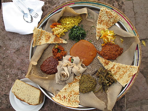 Injera (during Easter Time, Lalibela, Ethiopia)