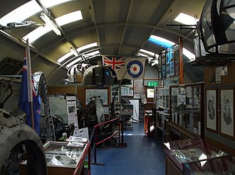 RAF Bungay - A view inside part of the Flixton Air Museum