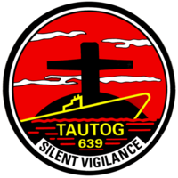 Insignia of SSN-639 Tautog.PNG