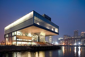 Institute of Contemporary Art, Boston - The ICA's current building in South Boston