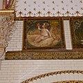 Interieur, bel-etage, achterzijde rechts (Vestibule van de wachtkamer eerste klasse), muurschildering, De maand juli - Amsterdam - 20392729 - RCE.jpg