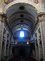 Interior de l'església de sant Miquel dels Reis de València, vista cap als peus.JPG