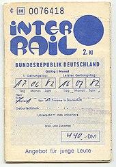 interrail � wikipedia